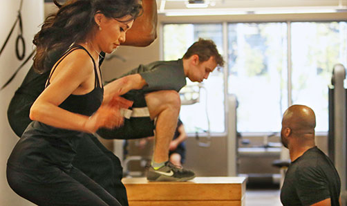 Weigh Crazy class at ZUM Fitness in the heart of downtown Seattle