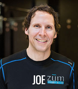 Joe DeShaw at ZUM Fitness in the heart of downtown Seattle