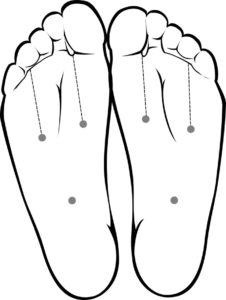 The foot tripod, an exercise to help foot pain.