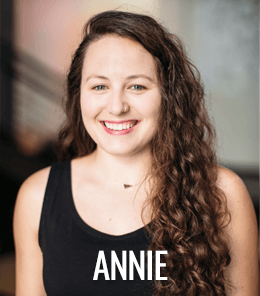 Annie King is yoga lead at ZUM Fitness, the best yoga studio and gym in Seattle.