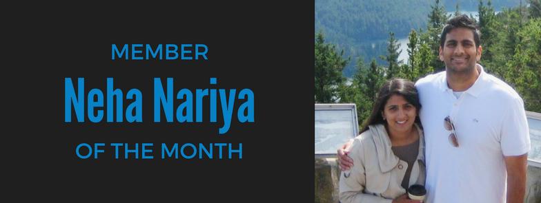 Member fo the Month, ZUM, Downtown Seattle, Fitness, Neha Nariya