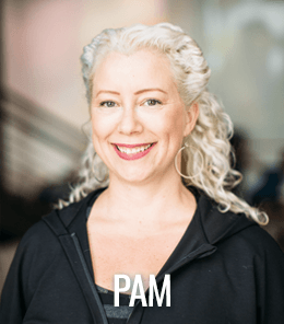 Pam Peterson is a certified trainer and Pilates intructor.