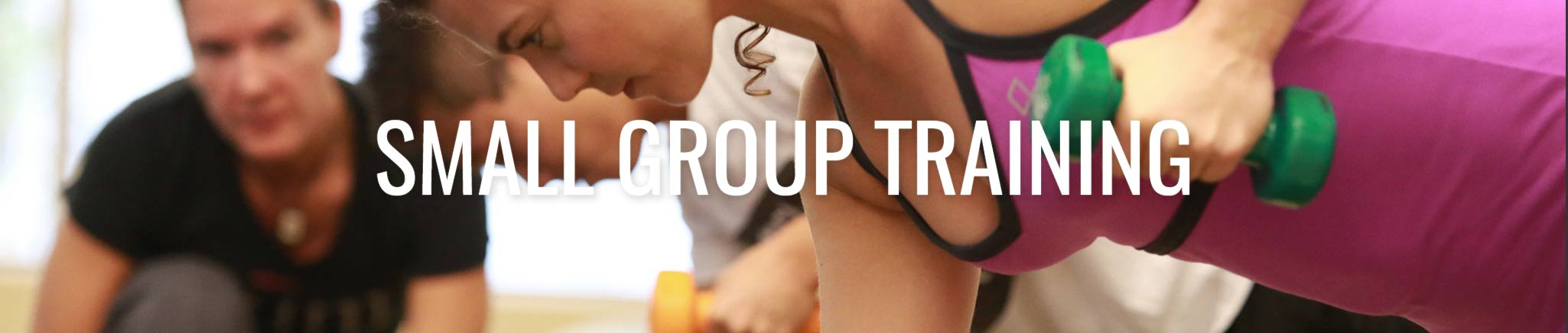 Small Group Training at ZUM Fitness in downtown Seattle is affordable and personalized.