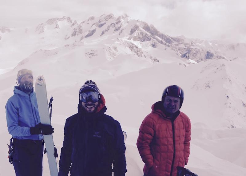 Camaraderie of backcountry skiing