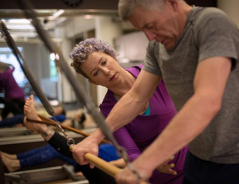 Pilates at ZUM Fitness