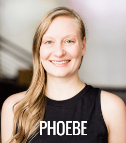 Phoebe Bender is an RYT 200 certified yoga teacher at the best yoga studio in Seattle.