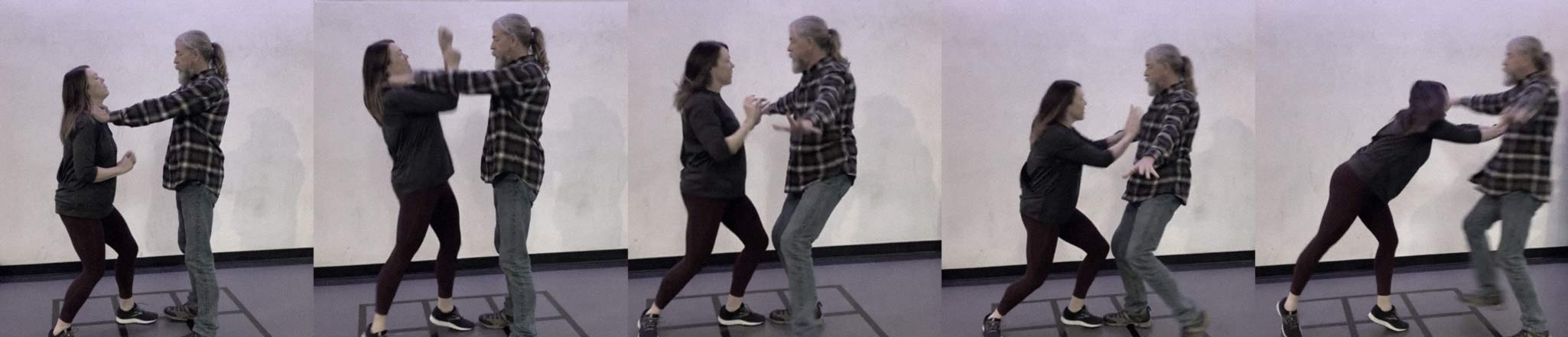 Women's Self Defense Class at ZUM Fitness teaches you to protect yourself with martial arts and information.