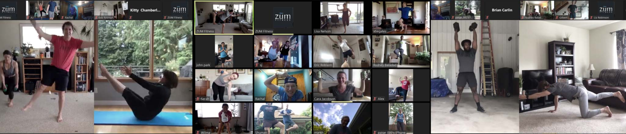 Virtual Fitness Classes at ZUM